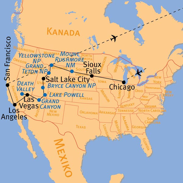 Florida tage rundreise bus 10 14 Tage